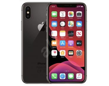 Apple iPhone X Fekete